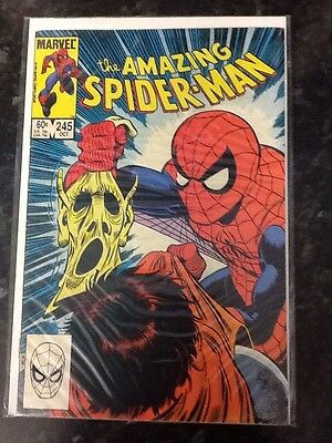 The Amazing Spider-man Comic Book Issues 245 Bagged Boarded