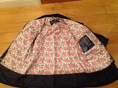Girls Barbour waxed jacket age 10-11