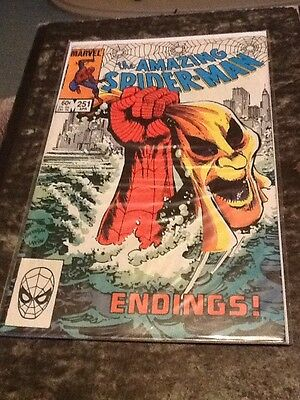 The Amazing Spider-man Comic Book Issue 251 Bagged Boarded
