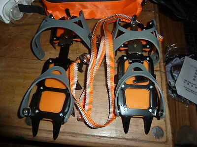 yamahuwai Spike Ice Crampons for Shoes in Carry Case