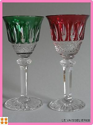 Two Liquor Glasses Crystal Saint Louis Pattern Tommy