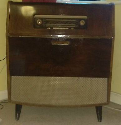 His Masters Voice HMV Radiogram WORKING