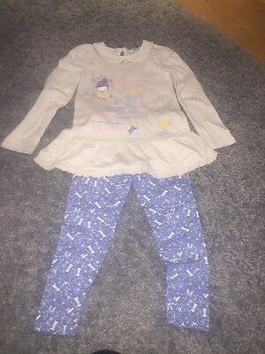 Girls Legging And Top Set Age 5-6