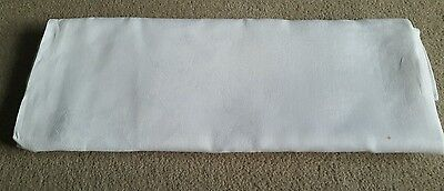 """An Antique / Vintage Linen Damask Tablecloth 82"""" by 72"""""""