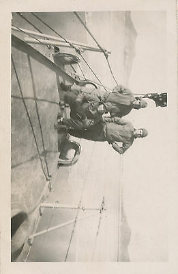 fall 1945 end  WWII USS Conway Manchuria Photo #1