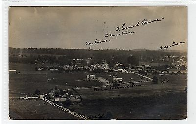 Picture postcard of a town somewhere in West Virginia USA (C23138)