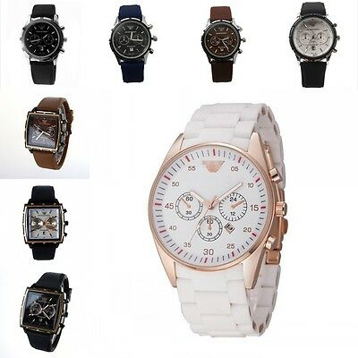 Watch Analog Silicone Wristwatch Business Men's Quartz Stainless Steel Dial Case