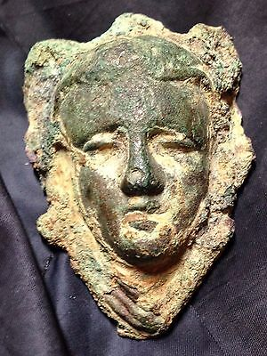 Roman Bronze Armour Decoration - Aphrodite?