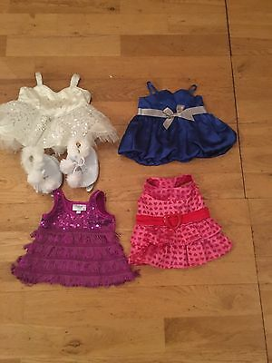 build a bear clothes bundle And Ice Skating Outfit