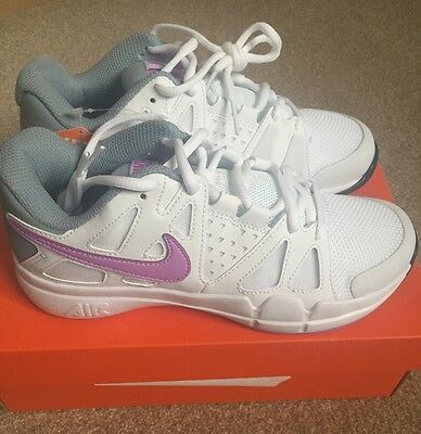 Girls Nike Tennis Trainers Size 3 Brand New In Box