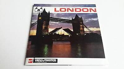 Viewmaster three reel set 3d LONDON C277 book style