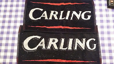Carling bar towels, set of 2