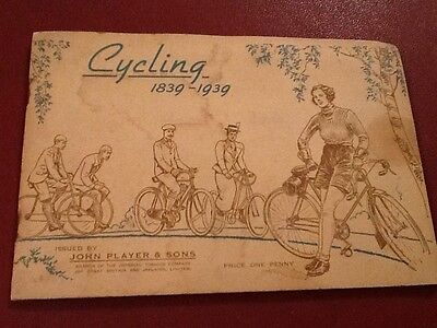 cigarette cards Players Cycling 1839-1939