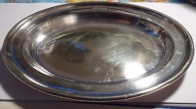 LNER inscribed First class plated serving salver 1950's Walker & Hall