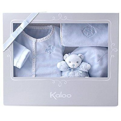 Kaloo Large Perle Gift Set (4 Pieces, Blue) Brand New