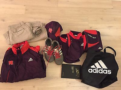 Adidas Trainers and Full Set Of 2012 Olympic Games Maker Uniform