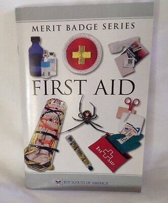 Boy Scout Merit Badge Book - First Aid - 2013 Printing  Eagle Scout