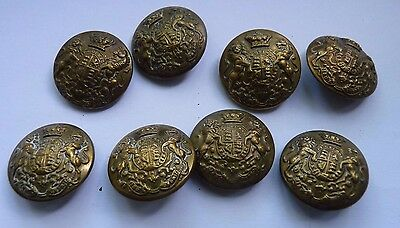 Two Boer War period Victorian General Service buttons