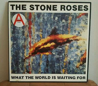 The Stone Roses What the World is Waiting For Fools Gold 12 vinyl single