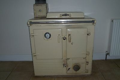 Solid Fuel Rayburn With Back Boiler