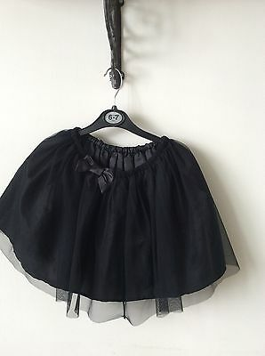 Girls Lace Party Skirt Age 6-7 Years