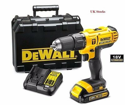 DEWALT DCD776 C1 COMBI DRILL 1-18V-1.5AH LI-ION BATTERY - Brand New