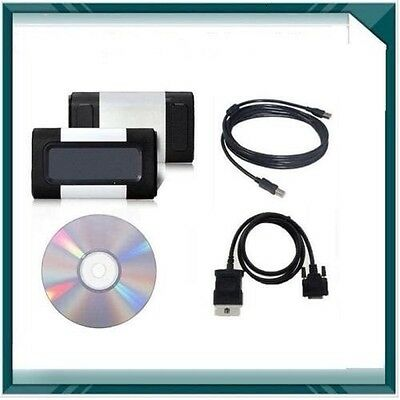 Newest Auto Diagnostic Tool Professional Tester Cars+Trucks Autocom cdp+ 2014.3