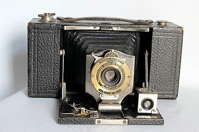 KODAK FOLDING POCKET No 2 MODEL B BOX CAMERA 101 FILM C 1905 GOOD COND (USED)