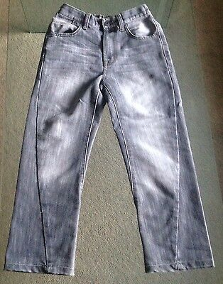 Boys Grey Jeans Age 8-9 Years