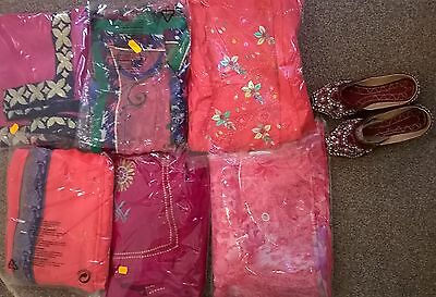 Children's Bollywood designer sarees with matching blouse for 6-12 year old girl