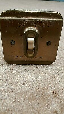 Vintage Electric Light Switch