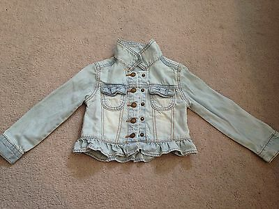 Girls Light Blue Denim Jacket Age2-3 Years