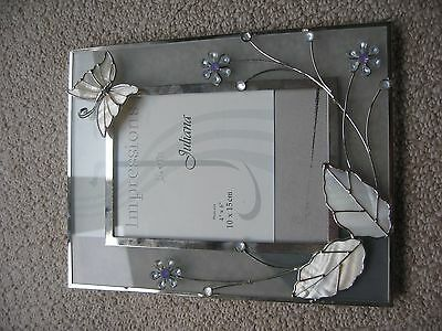 Impressions from Juliana 10 x 15 cm butterfly decorated Photo Frame