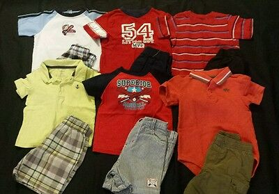 Baby Boy Size 18 months Mixed Spring & Summer Clothing Lot