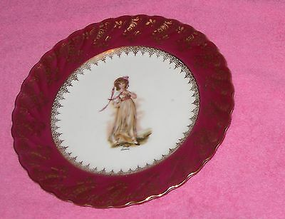 Antique french China side plate