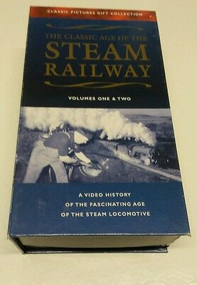 The classic age of the steam railway VHS, 2 tape