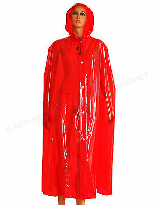 Regencape PVC Cape Coat Rainwear Poncho Mantel Raincoat Regenmantel Trenchcoat