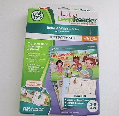 leapreader read and write activity set for girls