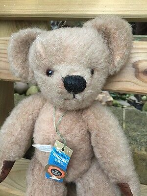 1950s Antique Chad Valley Old Teddy Bear - 2 Labels & Card Tag!