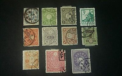 Japan Stamps Used Selection