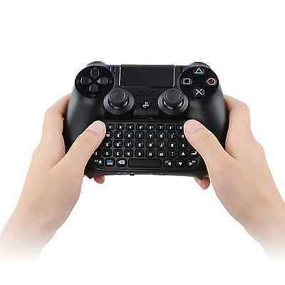 Megadream® PS4 Wireless Mini Rechargeable Bluetooth Message Keyboard Chatpad Gam