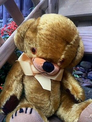 1960s British Merrythought Old Cheeky Bear - Lovely condition