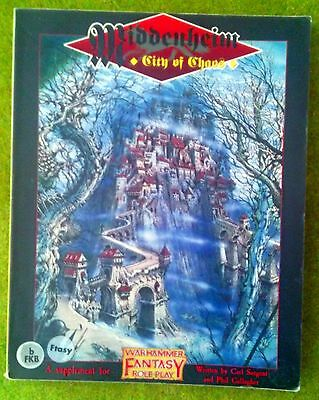 WFRP City of Chaos / Middenheim Warhammer Fantasy Roleplay book