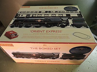 Orient Express Train Set in Mint Unused Condition With Merchant Navy Locomotive.