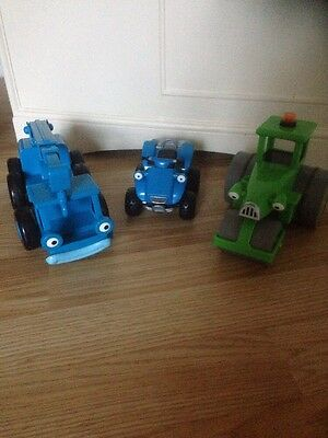 Bob The Builder Lofty Roley And Scrambler Vehicles