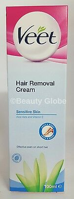 Veet Hair Removal Cream for Sensitive Skin 100ml