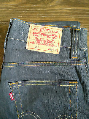 Jeans LEVI'S 511 Slim Taille 29x34 comme NEUF