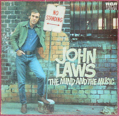JOHN LAWS THE MIND AND THE MUSIC vinyl lp A1-1 B1 1st Press