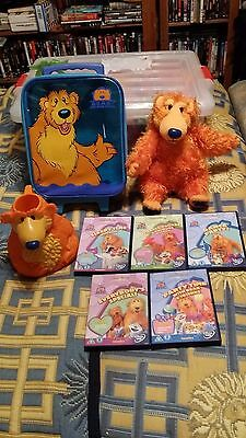 Lovely Bear In The Big Blue House Bundle Dvd Pull Along Case Cup And Bowl Plush