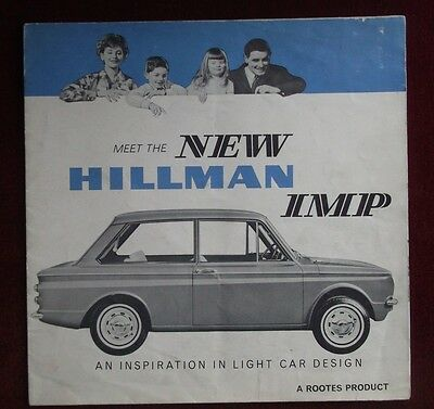 HILLMAN IMP 1963 Sales Brochure PLUS Road Tests & Launch Articles